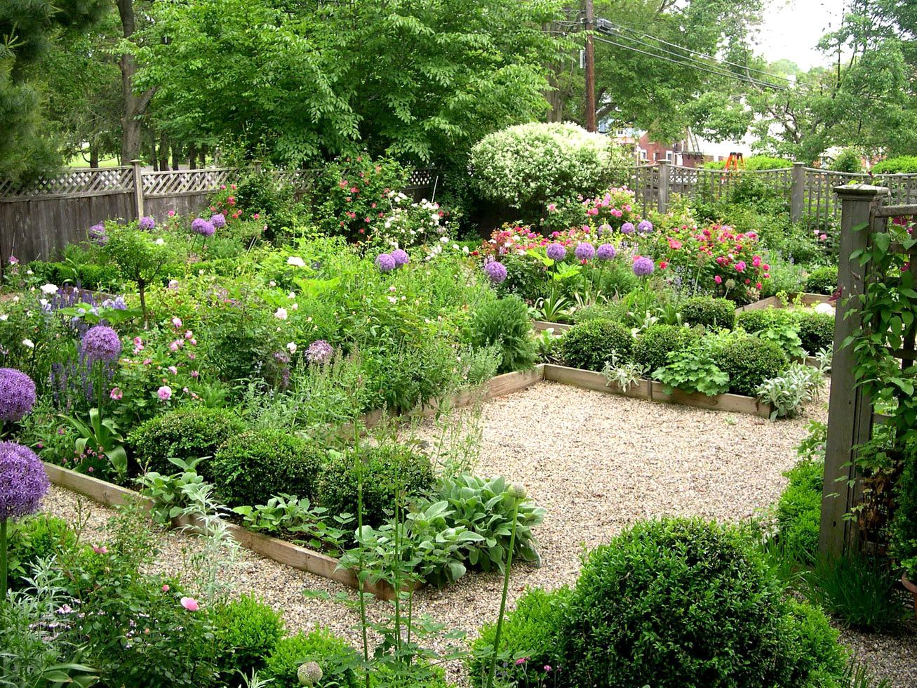 Small Backyard Vegetable Garden Design Small Square Garden Design ...