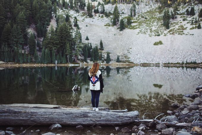 Time For Reflection by Hannah Merritt Imagery on @creativemarket