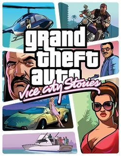 Cover Art Of Grand Theft Auto Vice City Stories Grand Theft Auto Grand Theft Auto Series Ps2 Games