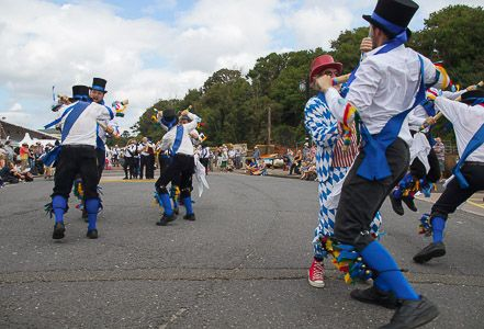A few photos of Great Western Morris in action