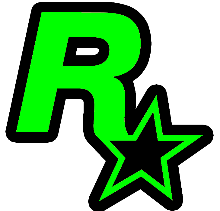 Rockstar Games Icon Neon Green Game Icon Rockstar Games Neon Green