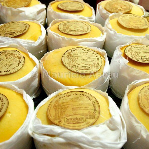 Traditional cheese from the Serra da Estrela region, Portugal