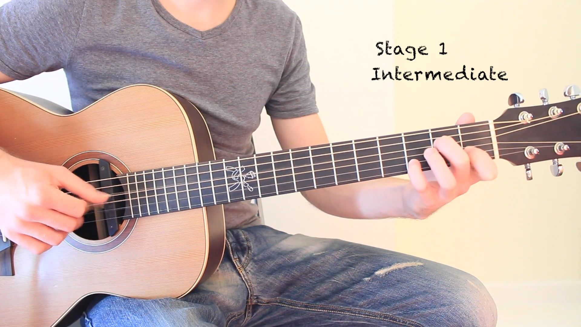 Acoustic Steps Stage 1 Fingerstyle Technique For Intermediate Advanced Guitar Players Guitar Guitar Player Fingerstyle Guitar Lessons