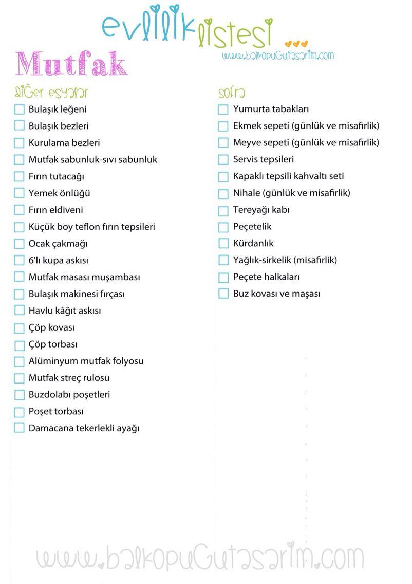 Alışveriş Listesi Nasıl Hazırlanır