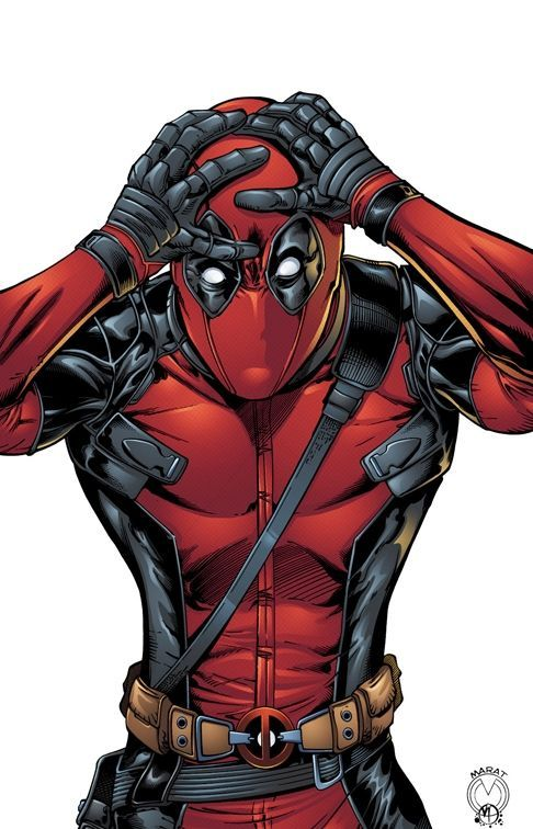 Comic book artwork deadpool deadpool marvel comics marvel - Dessin deadpool ...