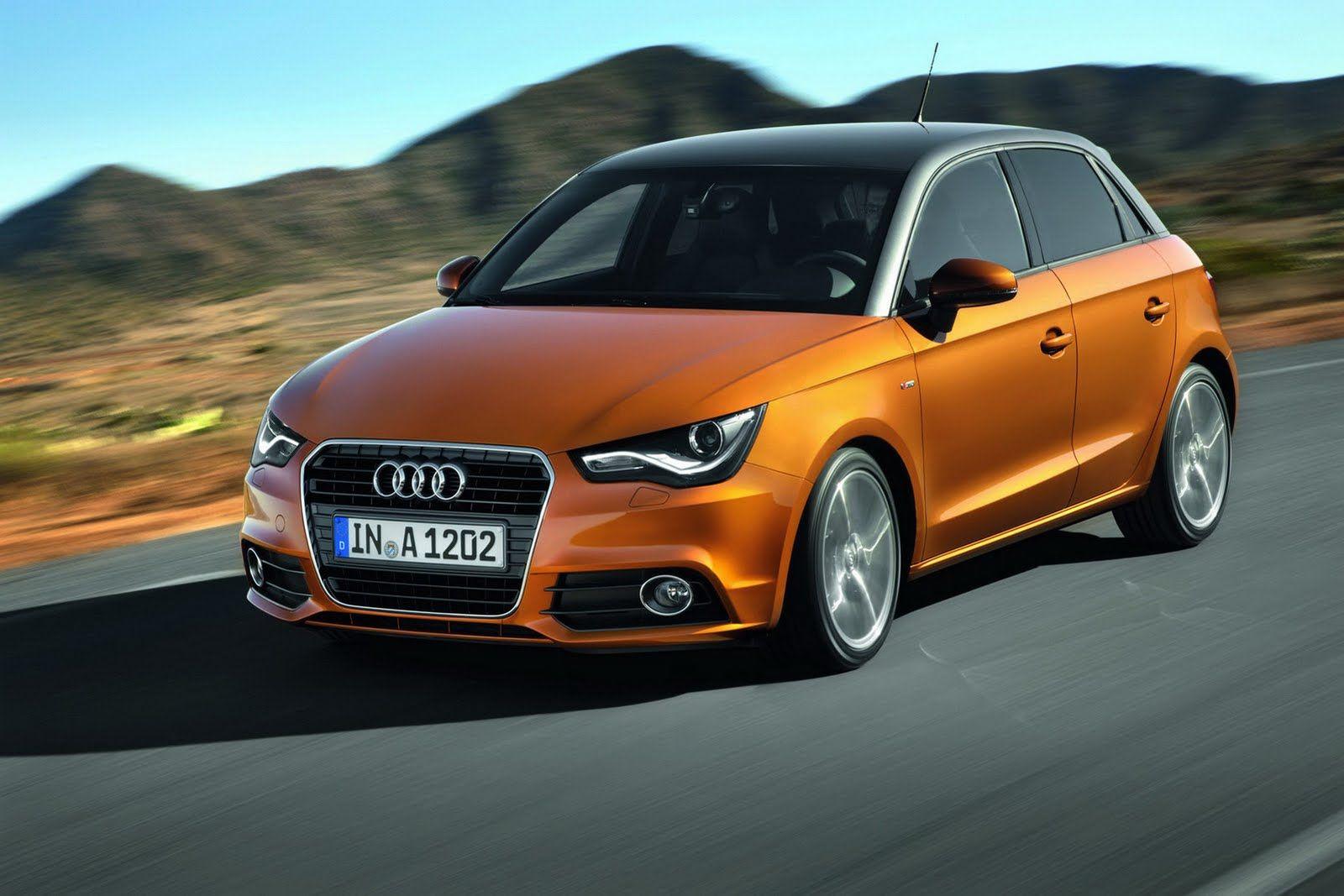 Audi a1 gold