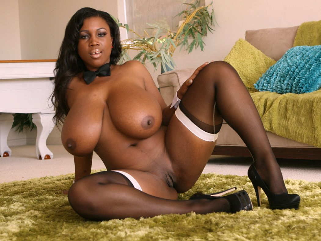 free ebony big boobs porn