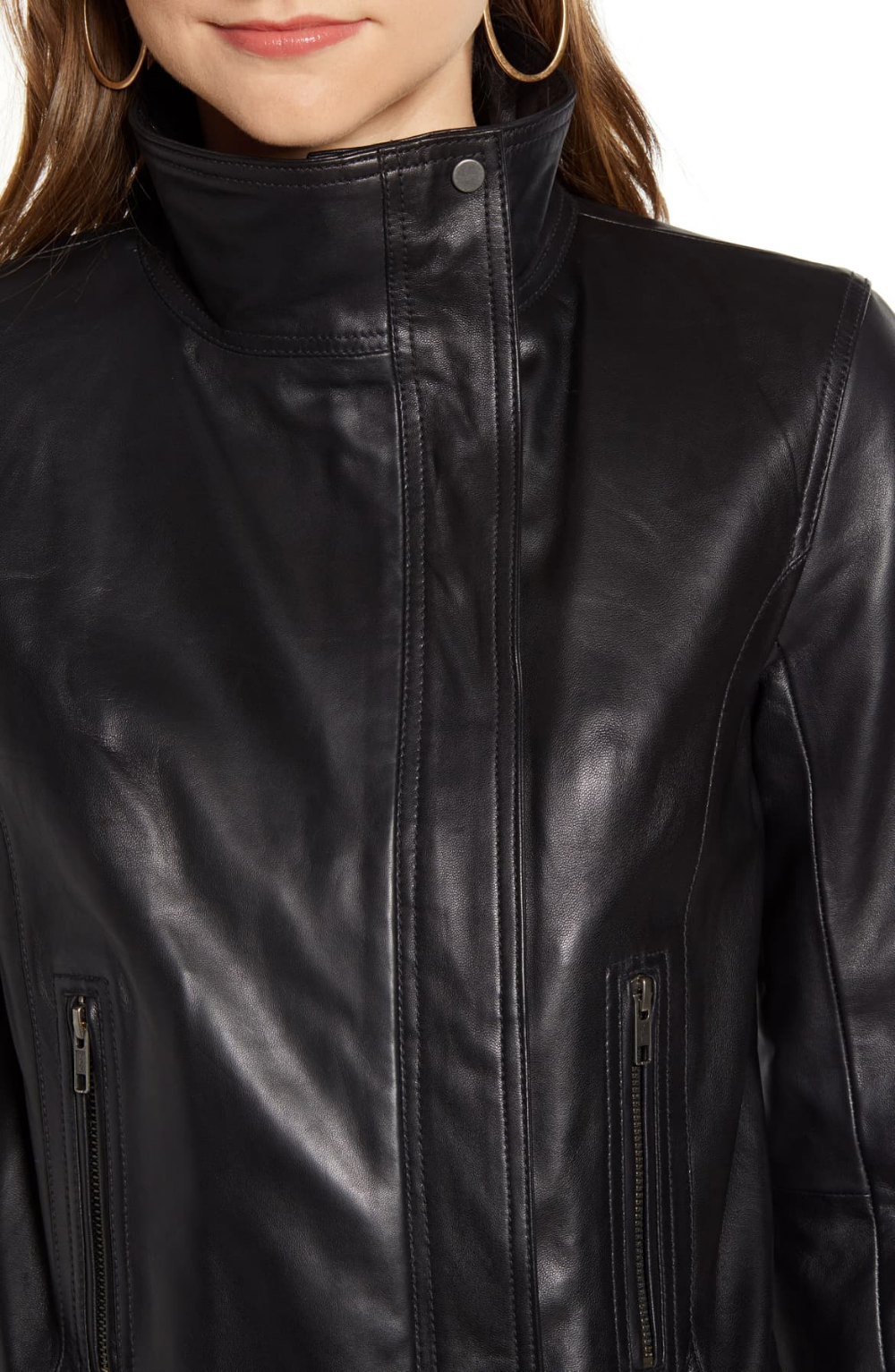 Chelsea 28 Leather Moto Jacket Nordstrom Leather Moto Jacket Moto Jacket Jackets [ 1533 x 1000 Pixel ]