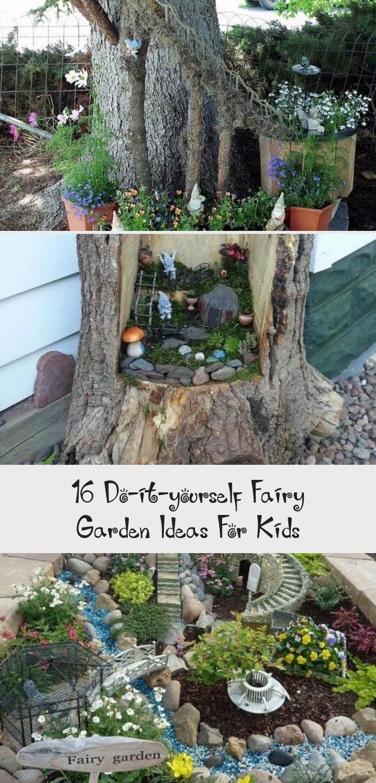 20 Do It Yourself Fairy Garden Ideas For Kids 20 ...