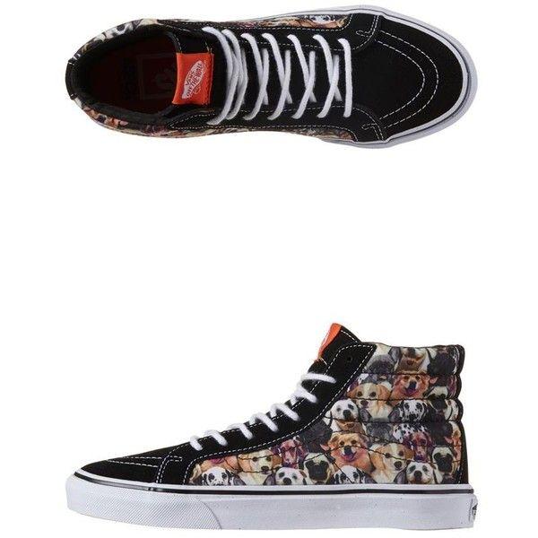 49495cd9d0dfaf Vans - Sk8 Hi Slim Aspca Hi Tops ( 79) ❤ liked on Polyvore featuring shoes