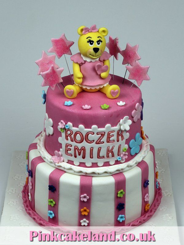 1st Birthday Cake for Girl London Cakes httpwwwpinkcakelandco