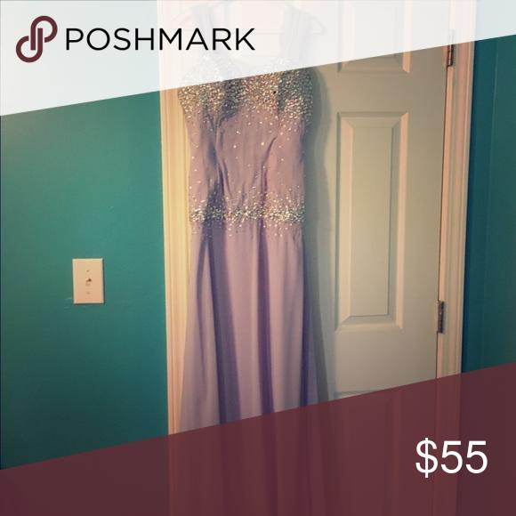 Formal lavender dress Long formal dress only worn once, originally a 200 dollar dress Nox Dresses Prom