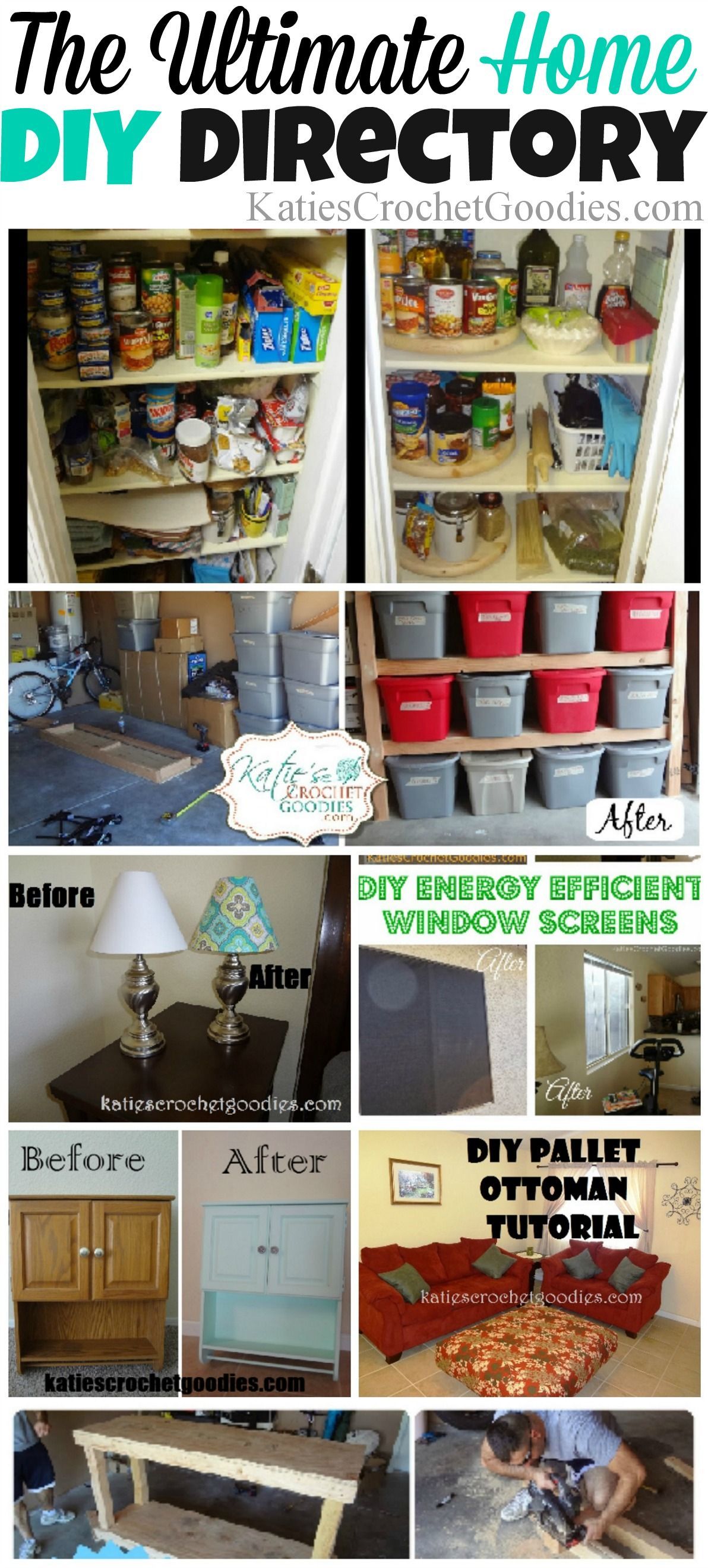 The Ultimate Home Diy Project Directory Over 25 Project Tutorials Home Diy Diy Home Decor Diy Household