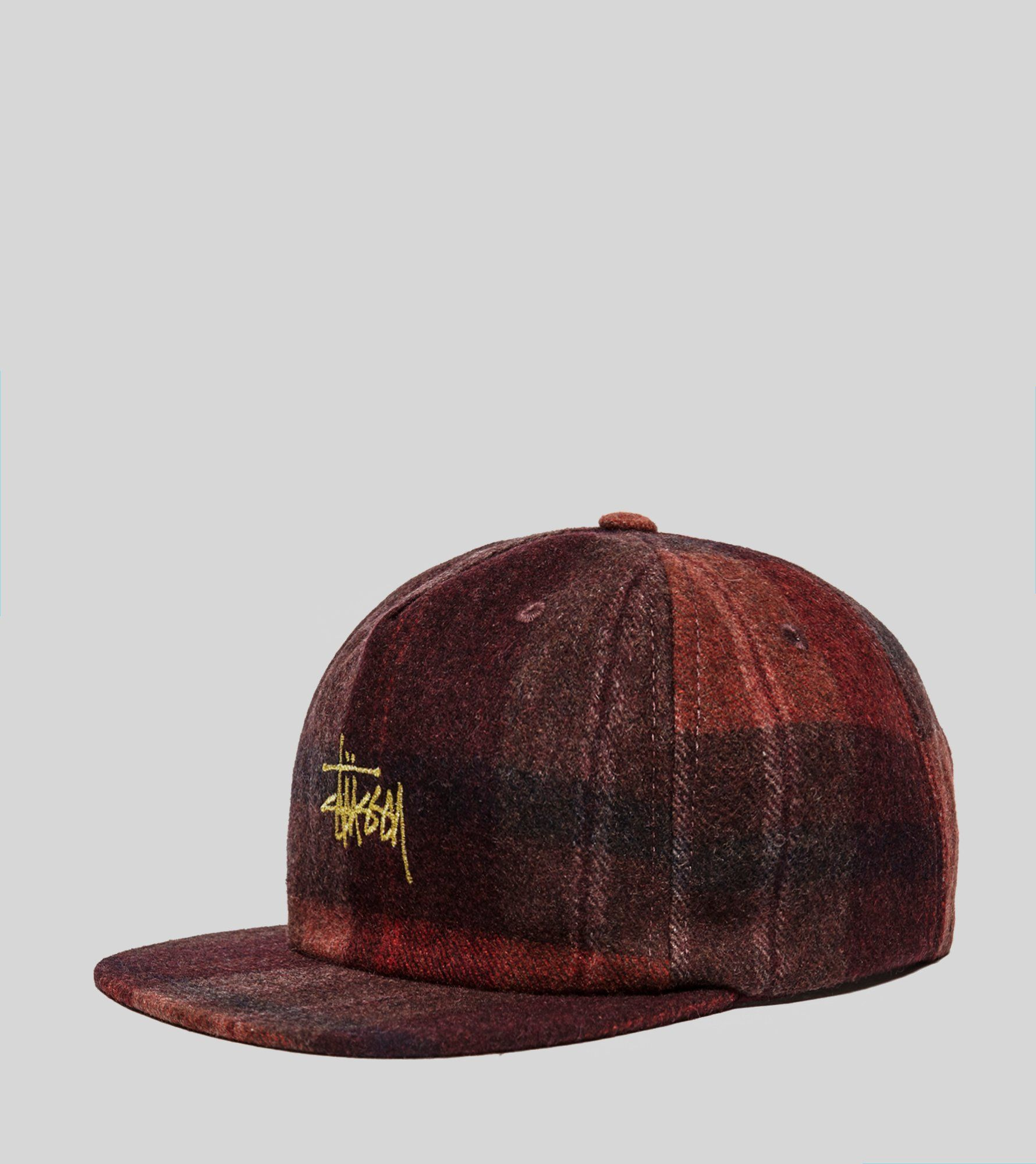 Stussy Smooth Wool Snapback Cap  0425186c6e28