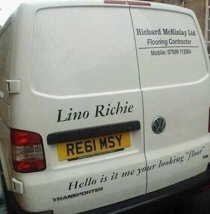 A Work Of Genius Had Me On The Floor Laughing Puns British Humor White Van Man
