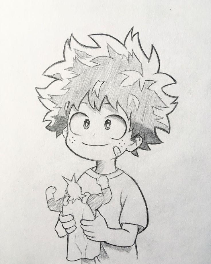 "Photo of Anime and manga drawing Instagram on Instagram: ""New sketch of Midoriya! …"