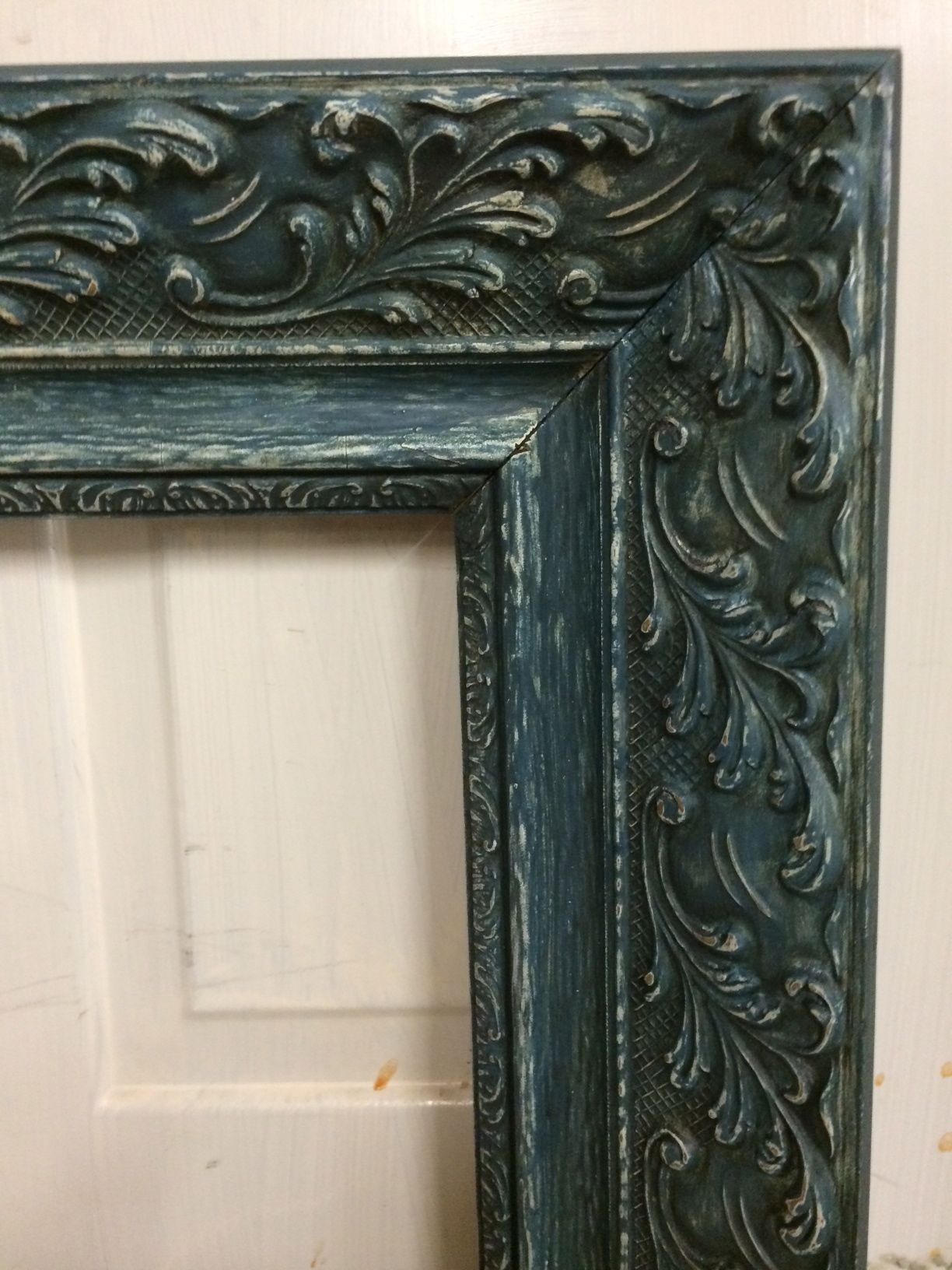 home decor, painted decor, painted picture frame, shabby chic, Annie ...