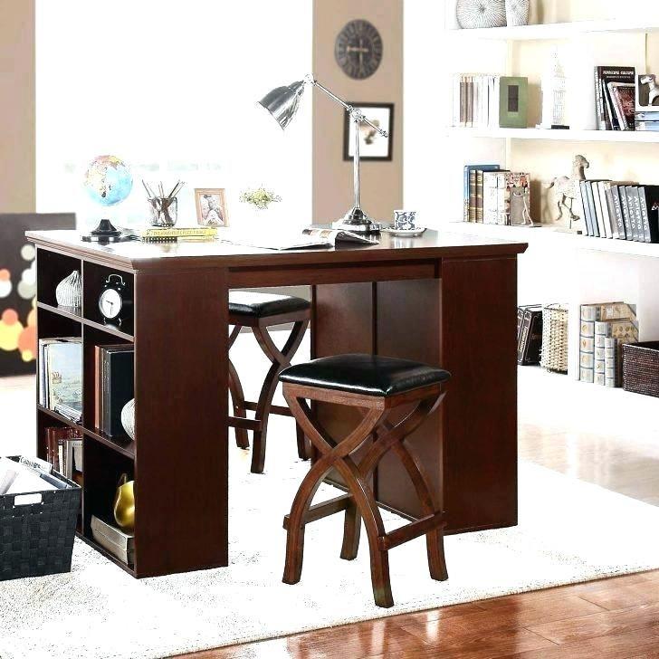 Tall Craft Table Diy Counter Height Craft Table With Storage Diy Craft Table Storage Diy Diycraftt Craft Tables With Storage Craft Table Craft Table Ikea