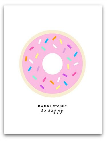 This cheeky design hits on two things we love: happiness and sweet treats. $22, ssprintshop.com  - GoodHousekeeping.com