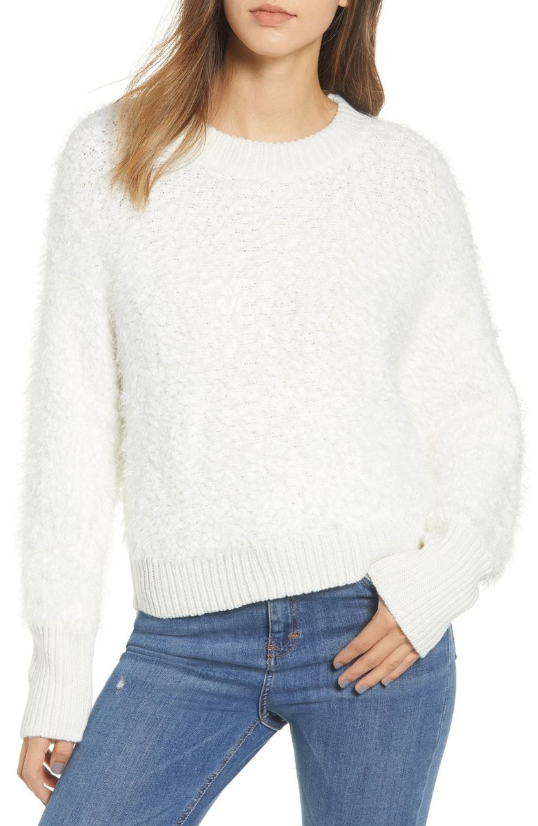 6bc639591e77a Free shipping and returns on BP. Fluffy Dolman Sweater at Nordstrom.com.  Knit from plush eyelash yarn
