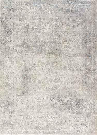 Polypropylene Material Carpet In Gray Silver Color Davis Rugs