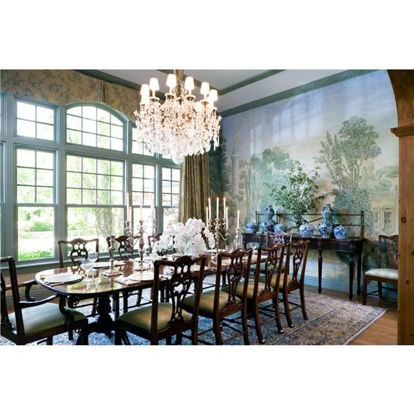 Sumptuous Traditional Dining Room By Timothy Corrigan On HomePortfolio