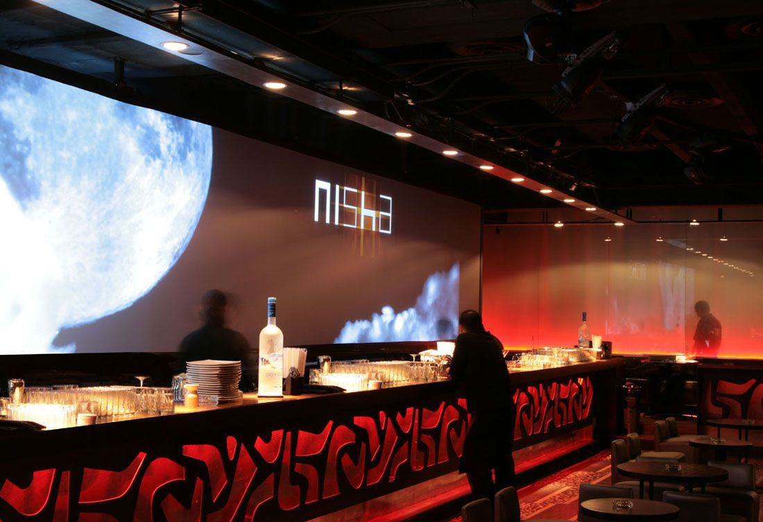 Nisha Bar Lounge Pascal Arquitectos Bar Floor space and