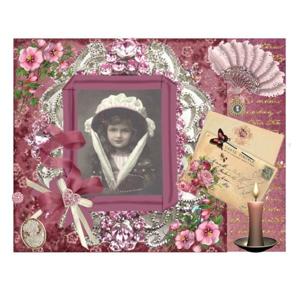 Victorian Hat by christi1 on Polyvore featuring art