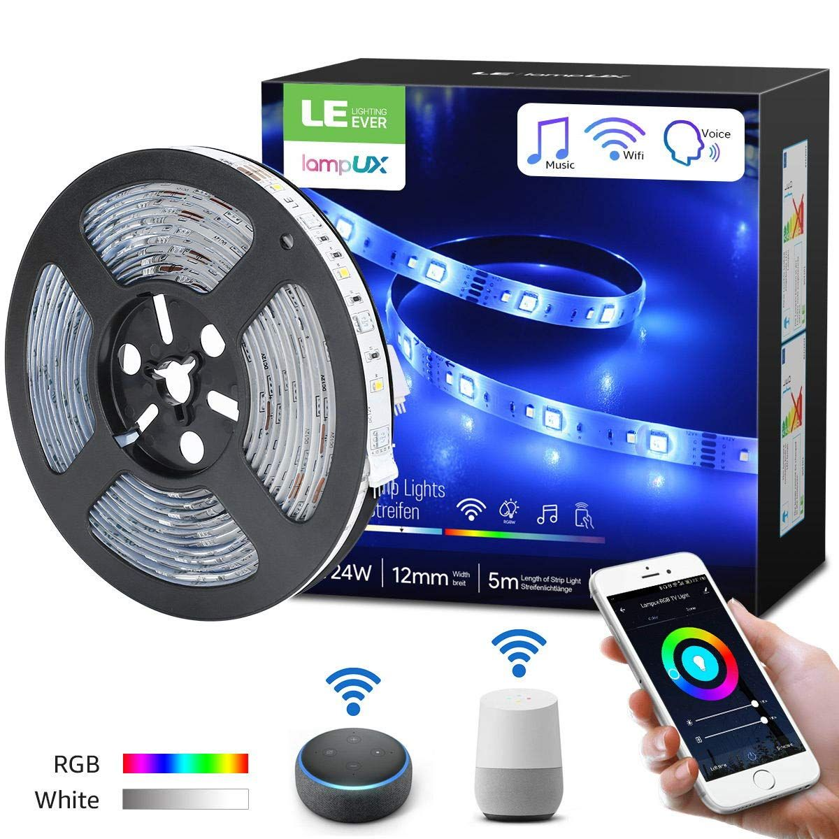 How to improve living experience at home? LE smart RGB LED