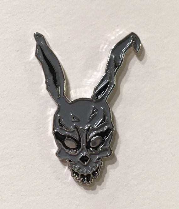 Hey, I found this really awesome Etsy listing at https://www.etsy.com/listing/485898375/frank-the-rabbit-donnie-darko-hat-pin