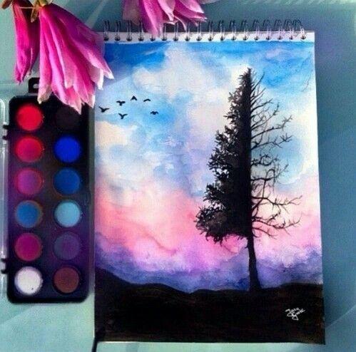 Art Tree And Drawing Eikona Drawings Artwork Art Drawings