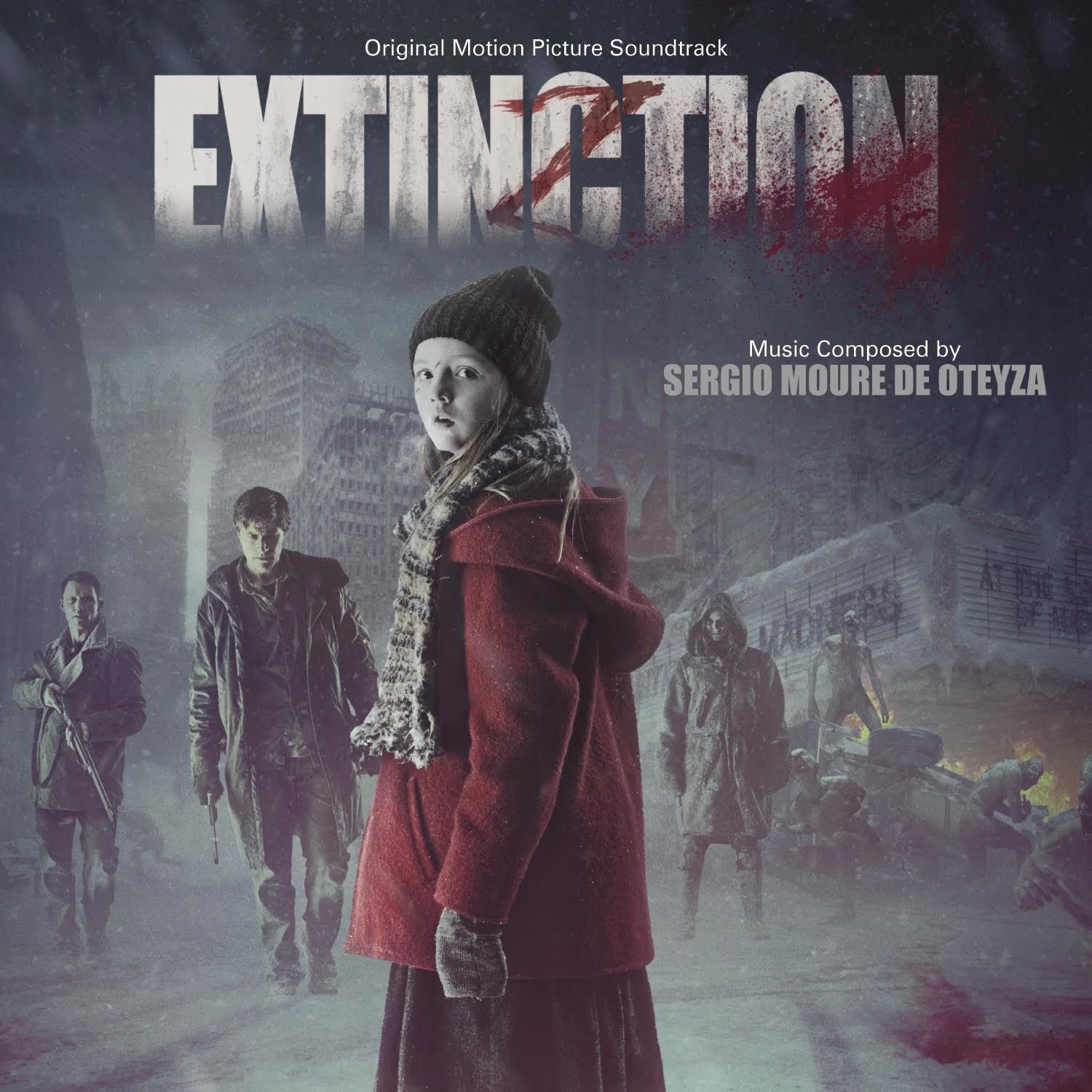 Extinction soundtrack debuts 8/14 from @VareseSarabande featuring ...