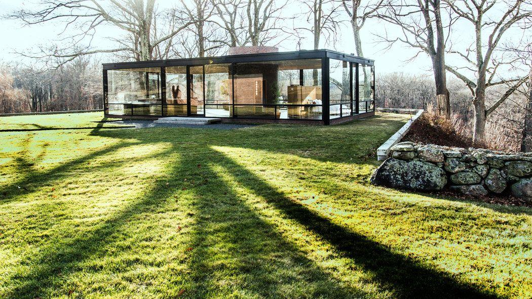 Philip Johnson's Glass House. Photo: Randy Harris