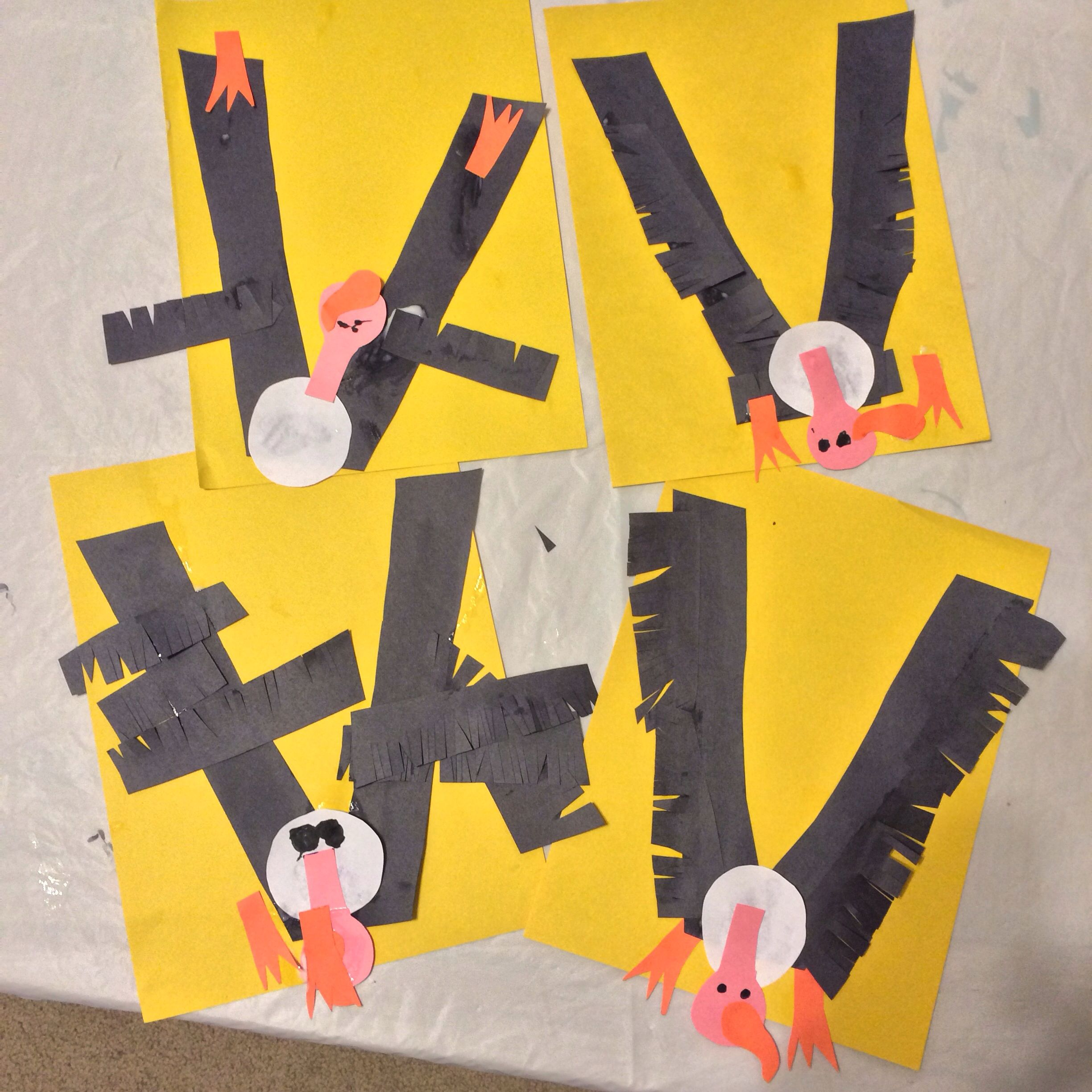 V Is For Vultures Great Letter Craft For Preschoolers And