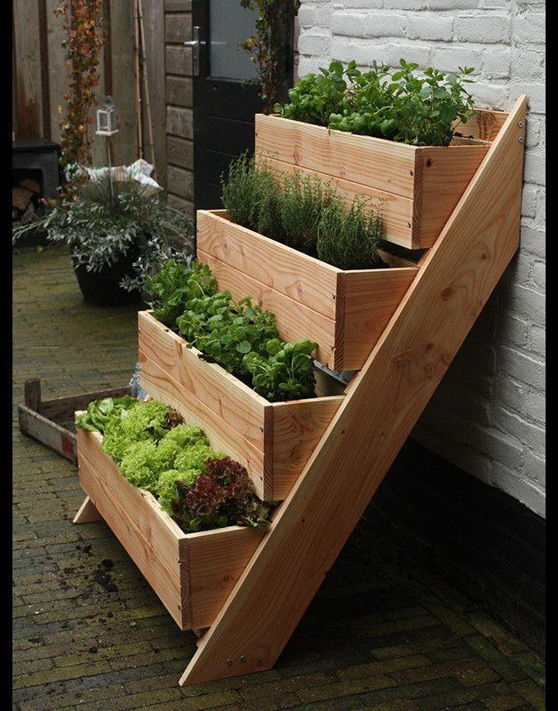 Photo of Mojo, Tall 'Vertical Planters – Balcony – Garden & Floristry – …