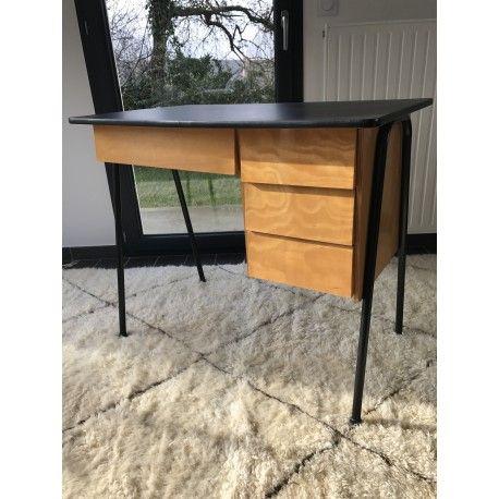 bureau moderniste design doccasion vintage design scandinave industriel ancien vendu - Bureau Design Scandinave