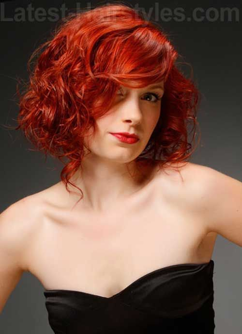 New Hairstyles 2015 Cool 30 Last Curly Short Hairstyles 20152016  #20152016 #curly