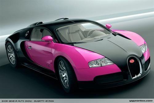 Pink And Black Bugatti Bugatti Veyron Black Bugatti Veyron Black Bugatti