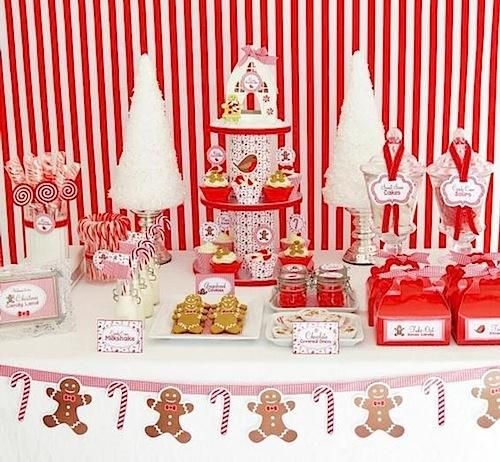 Dekorasi Natal ala Candyland Pada Pesta Kecil Di Rumah Stuff to