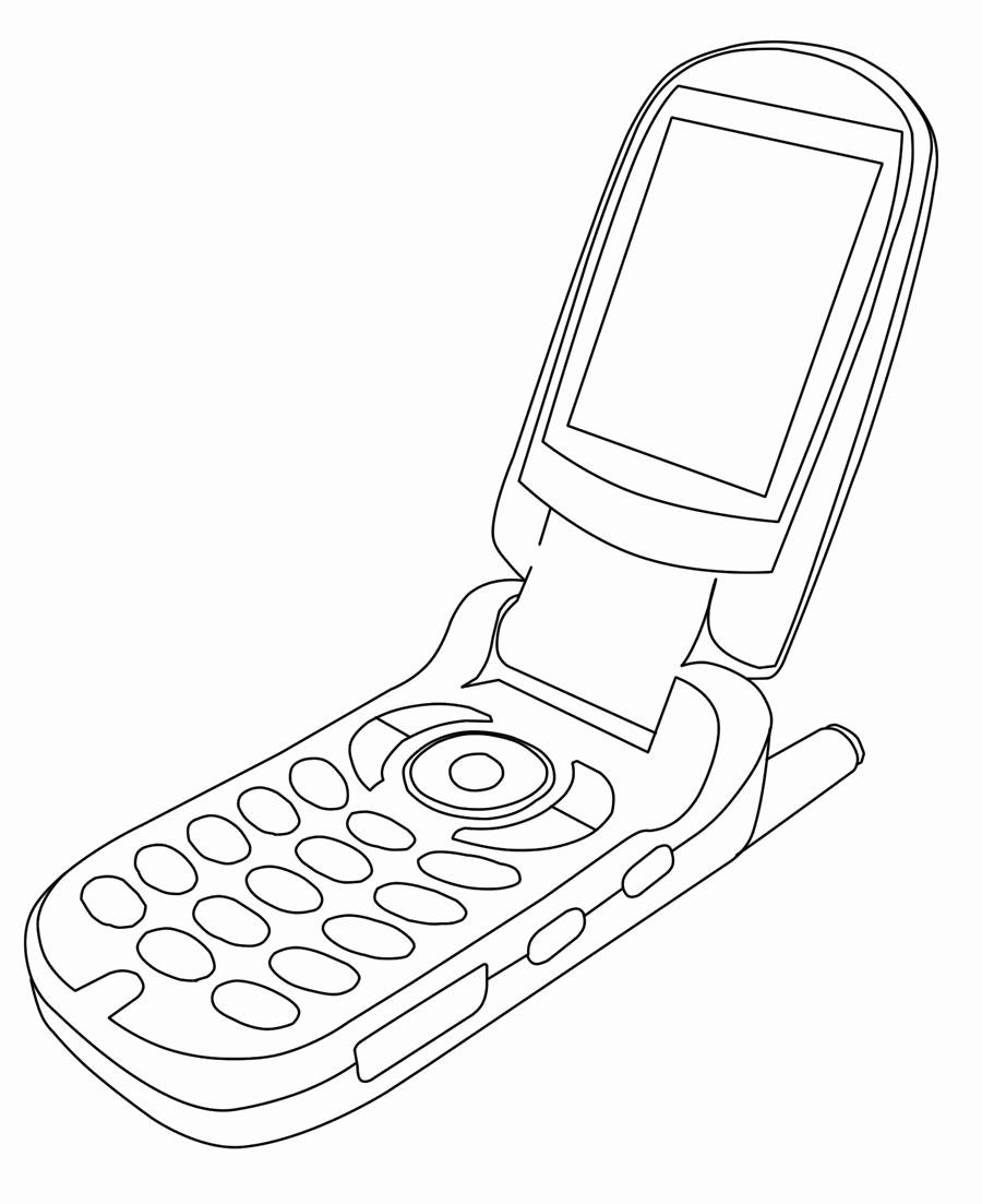 Cell Phone Coloring Page Best Of Cellphone Lineart By Clarkcinogen On Deviantart Coloring Pages Diy Phone Phone