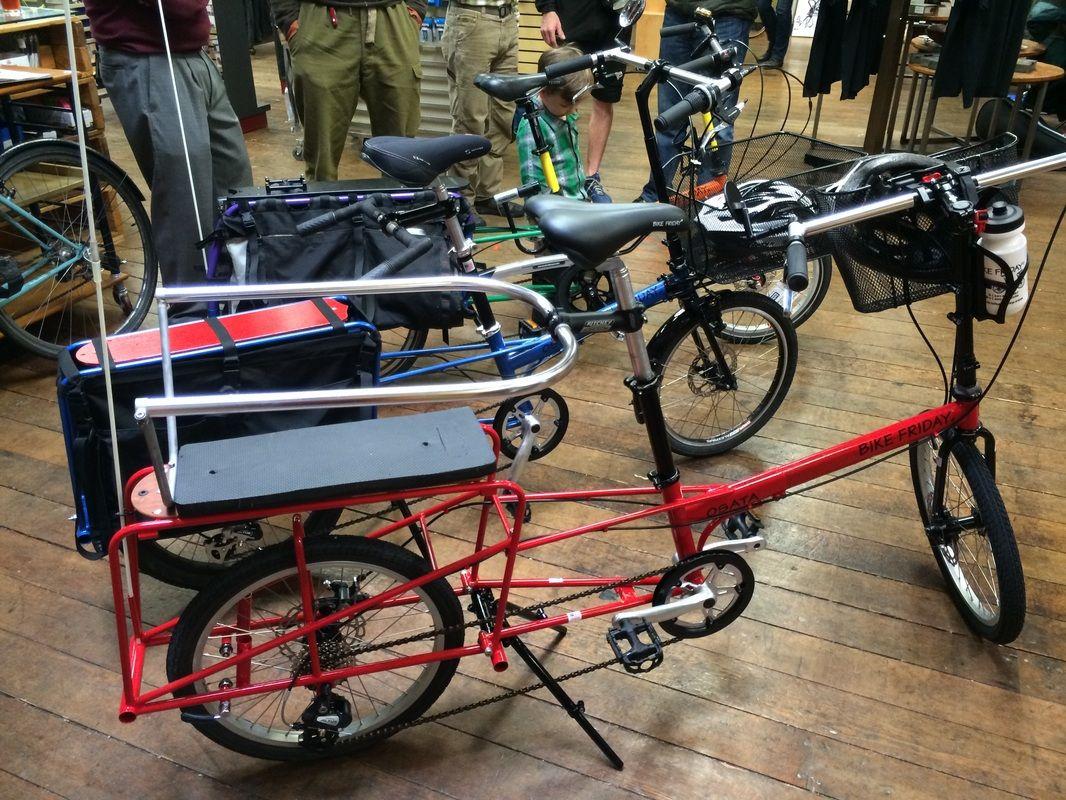 Visionboard Bike Friday Bike Bike Hacks