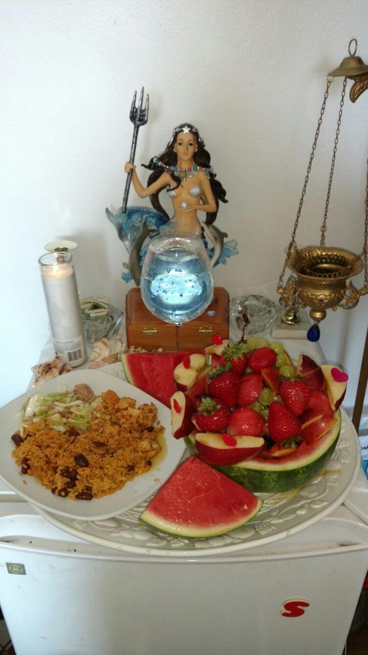 Image result for goddess yemaya ofrendas | Yemaya in 2019