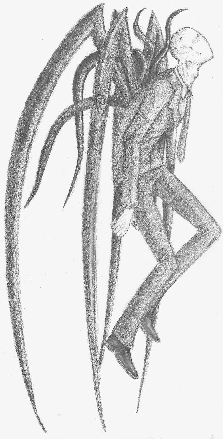 Slender Man By Rakkasah On Deviantart Dibujos De Slenderman Creepypastas Dibujos