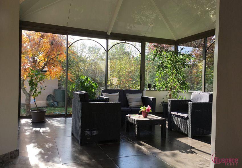 20cd6064bc96b4 La véranda salon près de Châteauroux Privilégiez les couleurs naturelles  aux bienfaits relaxants afin d