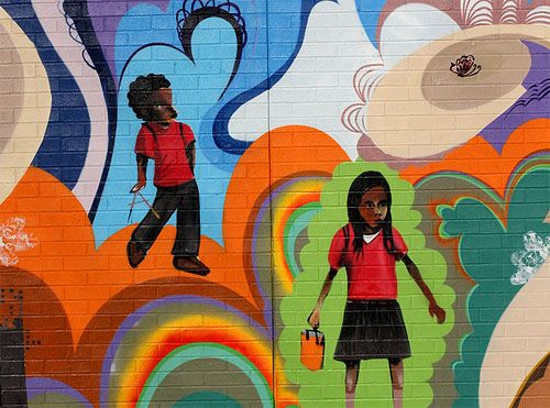 Elementary School Mural Ideas