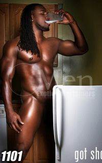 Sexy black male strippers