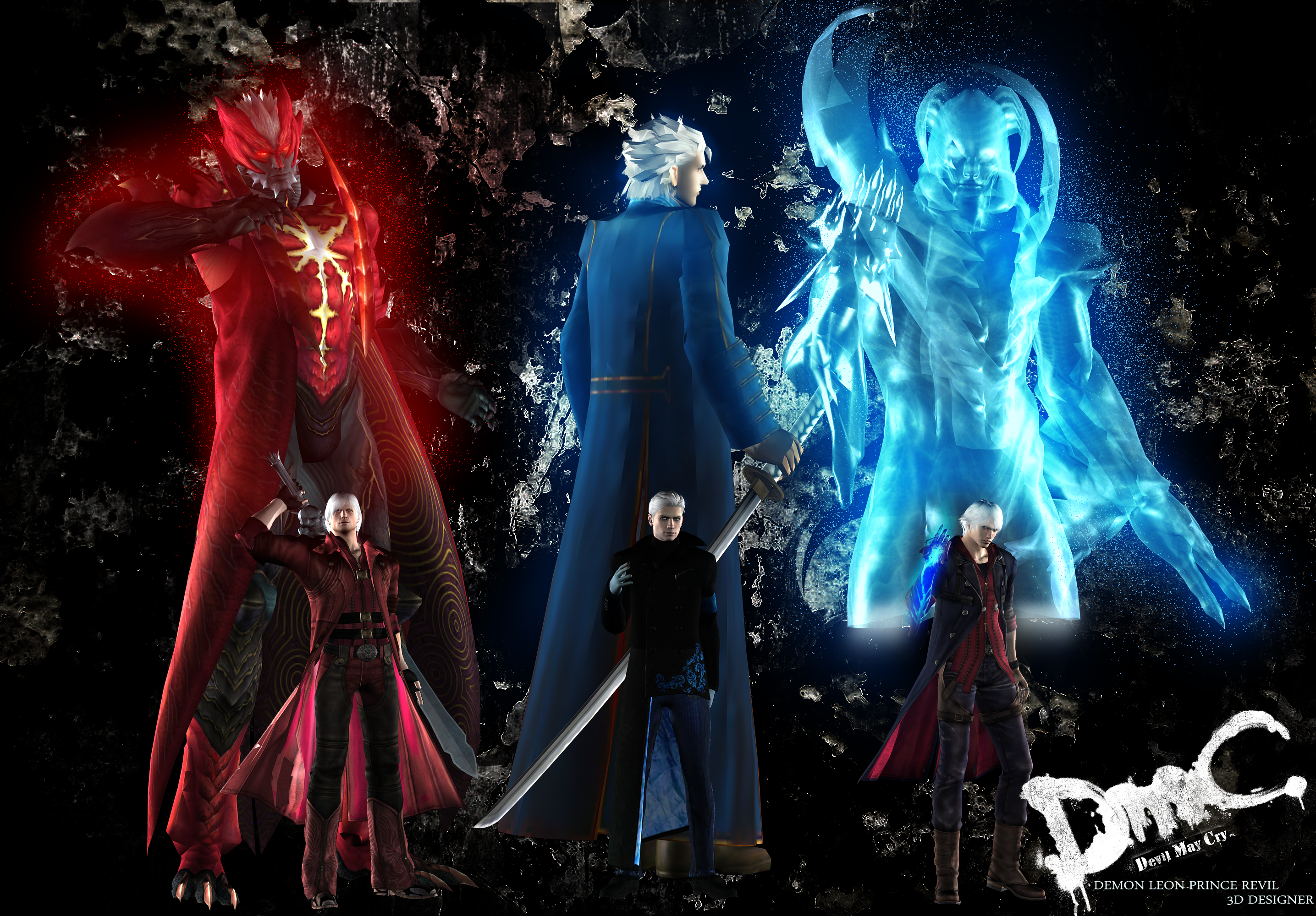 Dmc devil may cry 3d demons devil may cry by dmc devil may cry 3d demons devil may cry by demonleonprincerevil on deviantart voltagebd Gallery