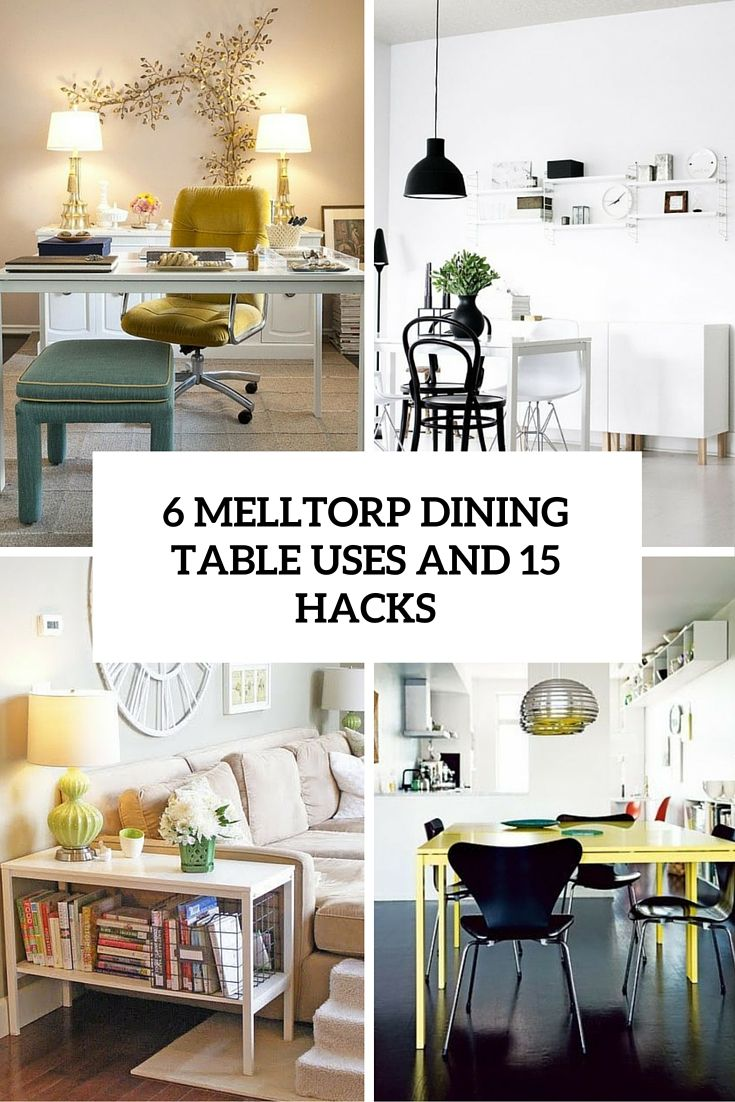 Ikea Muebles Comedor | 6 Ikea Melltorp Dining Table Uses And 15 Hacks Diy Ikea Hacks