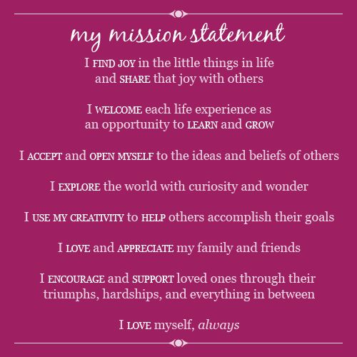 My mission statement Quotes Pinterest - best of 10 sample company mission statement