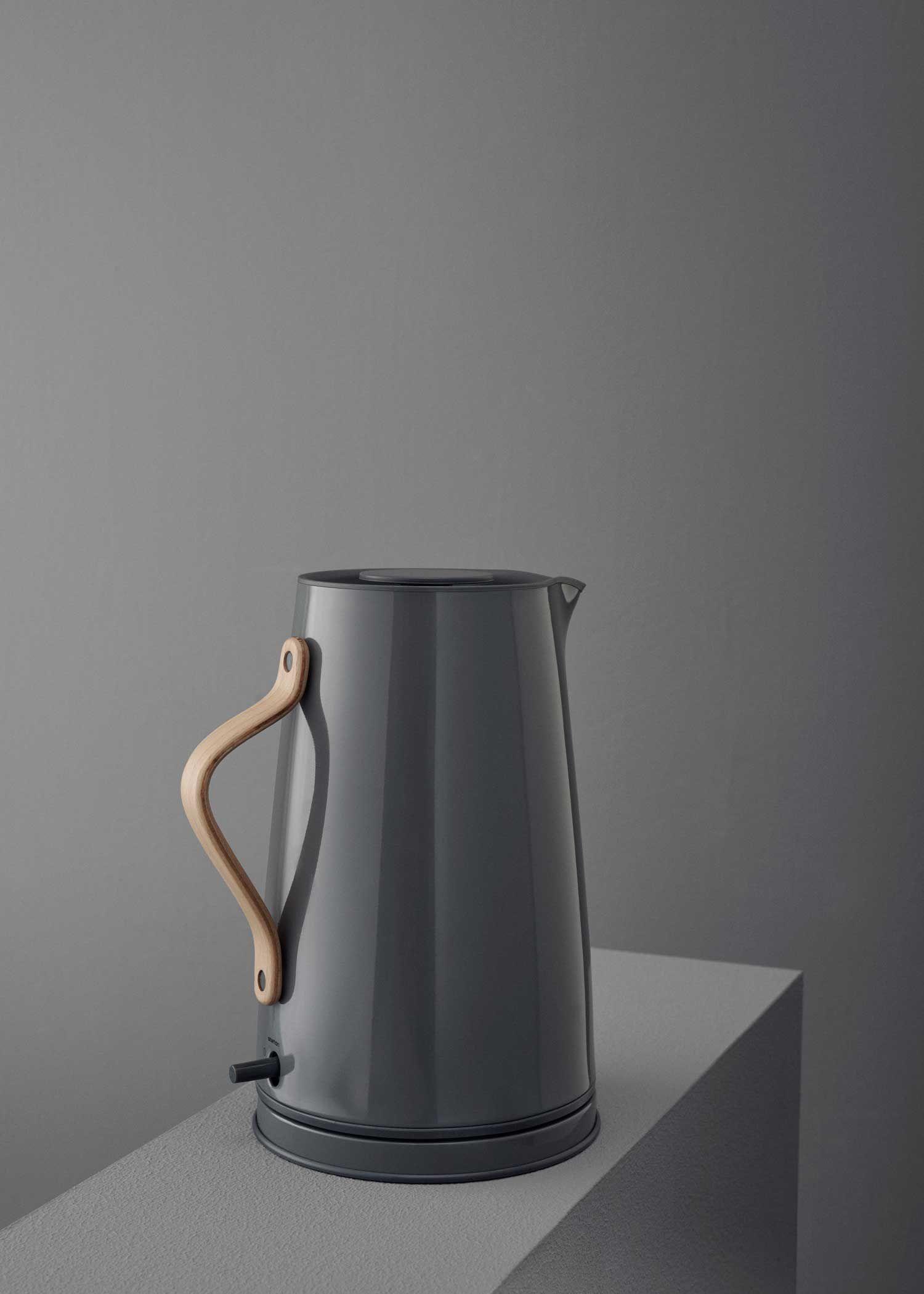Emma Electric Kettle With Wooden Handle By Stelton. Design: Sebastian  Holmbäck U0026 Ulrik Nordentoft